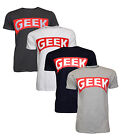 New Mens Soul Star Printed Cotton Geek T-Shirt Short Sleeve Casual Top