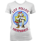 9010w LOS POLLOS HERMANOS Ladies T-SHIRT BREAKING BAD vamonos pest heisenberg