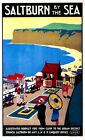 68 Vintage Railway Art Poster Saltburn By The Sea   *FREE POSTERS