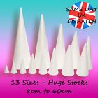 Polystyrene Cones SALE - Craft Sugarcraft Sweet Trees Xmas QUALITY BIG UK Stocks