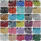 6MM sparkling Resin Rhinestone Flatback Crystal  14 Facets 1000-10000 PCS