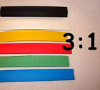 "1-1/2"" ID (1.5"") 3:1 Heat Shrink Tubing Polyolefin - choose color and length"