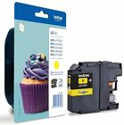 LC123 Yellow Original Brother Printer Ink Cartridge LC-123 Cupcake Series