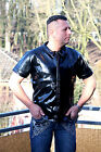 Shirt Laquer Vinyl Quality Shirt Short-sleeve - All Sizes - Made-to-measure