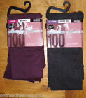 MARKS & SPENCER THERMAL HEATGEN TIGHTS BERRY OR GREY SIZES LARGE OR EX LARGE BN