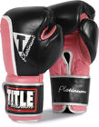Title Platinum Ultimate Bag Gloves boxing punch leather mma muay thai fight arts