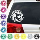 Soccer Family football footbol decal sticker car truck suv sports