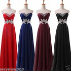 Chiffon Wedding Bridesmaid Formal Gown Ball Party Cocktail Evening Prom Dress