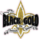 new orleans saints black and gold vehicle decal sticker $15.0 USD on eBay