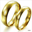 Cool Gold Plated Titanium Steel LOTR Lord of the Ring / SIZE US 5 - 15