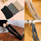 Girls Knit Over Knee Thigh Cotton Stockings High Socks Pantyhose Tights 3 Colors