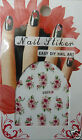 3d nail art stickers, Flowers, Daisies, Lilies & more