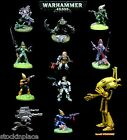 WARHAMMER 40K Painted / Part-Painted FIGURES Multi-Listing