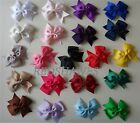 LARGE HAIR BOW CLIP- 21 colours to choose (10cm)- combined post see description