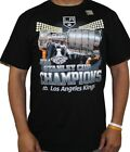 "Los Angeles Kings 2014 Stanley Cup Champions Majestic ""Dump & Chase"" T-Shirt $4.95 USD on eBay"