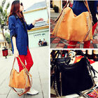 Fashion Women Handbag Faux Leather Satchel Shoulder Bag Tote Hobo Messenger