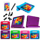 "8IN1 Kiddie Shock Proof Case Handle Cover for Samsung Galaxy Tab 4 8.0 8"" Bundle"