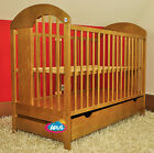 Wonderful baby cotbed,  6 colours- Bear with baloon + drawer + mattress NEW!