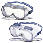 OTOS Ventilation Air Holes Lab Clear safety Goggles Eye Protection #S-506