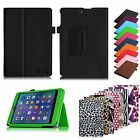 "For E FUN Nextbook 8 7.85"" NX785QC8G Tablet Slim Folio Leather Case Stand Cover"