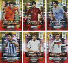 PANINI PRIZM FIFA WORLD CUP STARS 2014 RED & YELLOW  MESSI RONALDO CARDS