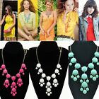 Women Necklace Bubble Bib Resin Bohemia Chain Candy Colors Fashion 2014 New K