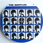 "The Beatles - A Hard Day's Night - 12"" LP Vinyl Record Clock - Lennon, canvas"