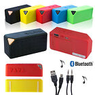 X3 Mini Cuboid Portable Wireless Bluetooth Speaker For iPhone MP3 Rechargeable