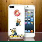 Donut Minions Funny Cute Despicable Me Army Chubby Bite Hard Phone Case Cover