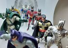 Batman action force figures 1989+ Dark Knight blue orange black sliver Green