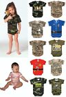 One Piece Camo Military Army Law Enforcement Bodysuit Infant  Rothco