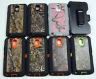 for Galaxy Note 3 - Camo Hybrid Case with Screen Protector & Free Belt Clip