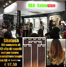 HAIR EXTENSION SHATUSH KIT FASCE CON 12 CLIP REMY MADE IN ITALY