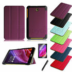 Slim Lightweight Case Stand Cover for ASUS MeMO Pad 7 ME176CX + Screen Protector