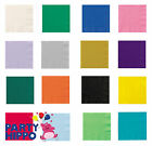 20 Coloured Paper Luncheon Napkins Serviettes 2 ply Party Tableware Wedding