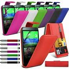 HTC One m8 (2014) Stylish Funky Pull Tab Flip Wallet Hard Case Cover