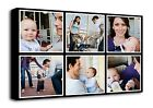 Your Photo Collage Canvas Print - Personalised on Box/Wrapped d1008