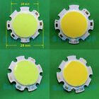 3W / 5W / 7W Pure / Warm White 260Lm-660Lm Round COB LED Lamp Light + Driver D28
