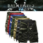 Mens Casual Army Cargo Combat Camouflage Overall Shorts Sports Leisure Pants NWT