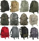 Backpack Large Military Style Transport  Pack Tactical MOLLE Camo  Rothco