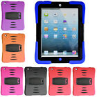 Defender Heavy Duty Tough Shock Proof Stand Case Cover For Apple iPad Mini 1 & 2