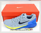 2014 Nike Lunarglide 6 VI Grey Blue Volt 654433-005 US 9~11 jogging running 1