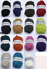 Papillon Scarf pom pom Knitting Yarn Wool Buy one get one free