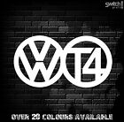 VW T4 Sticker Large 300mm Volkswagen T4  Transporter decal Day van Camper  TDI