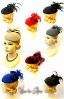"""New Ladies Vtg 1940s 50s Glamour Retro Sweetheart """"Grace"""" Pin-up Pill Box Hat"""