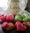 Fruit Citrus Scents 10 Tart Wax Melts Hearts Cherry Strawberry Berry Melon Lemon