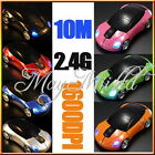 1600DPI 3D Car Shape 2.4G Wireless Optical Mouse USB Receiver PC laptop WIN7 Q