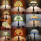 FASHION STYLE LAMP HANDCRAFTED STAINED GLASS VINTAGE TABLE DESK BEDSIDE SHADE