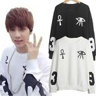 Kpop BTS Bangtan Boys Rap Monster Jin SUGA V Jimin J-Hope Sweater Sweatshirt Top
