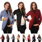 Maternity Button Closure Cardigan Pregnancy Sweater Size 8 10 12 14 16 18 9004